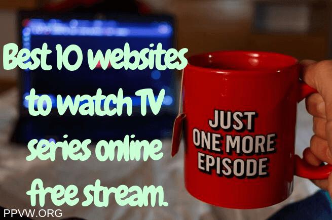 watch TV series online free stream