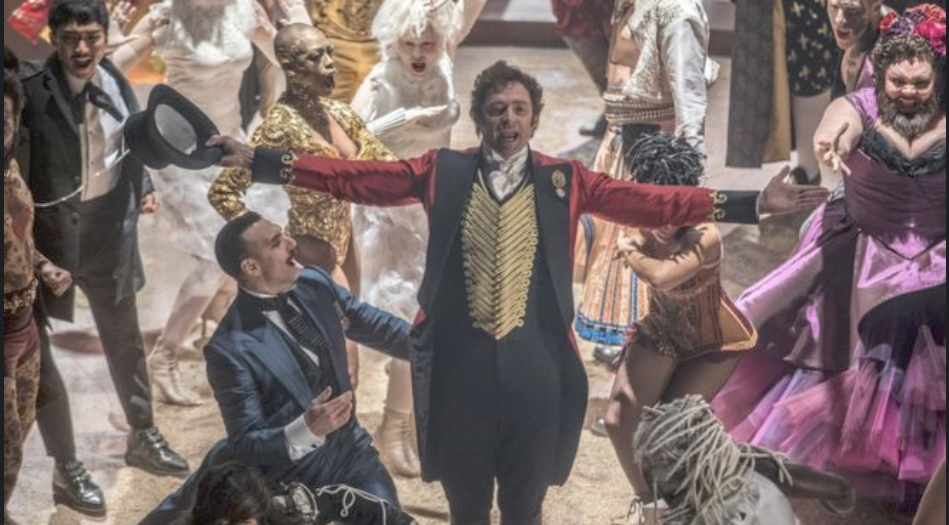 The Barnum's story as the Greatest showman 2017 film biography of Barnum