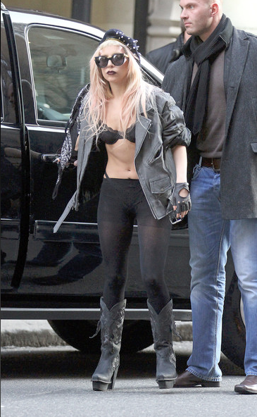 lady gaga in cowboy boots top 10 fashionable shoes