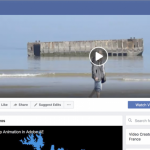 Facebook cover video