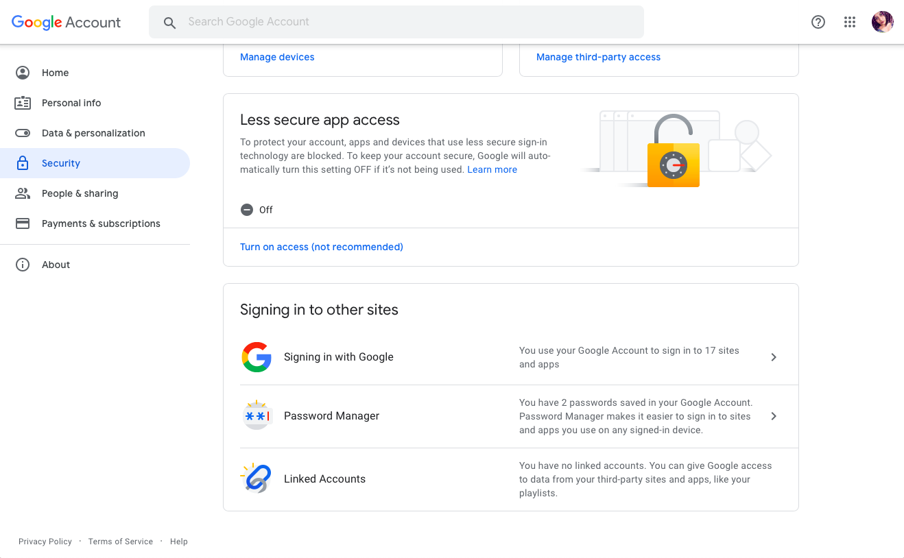 change default google account in Samsung