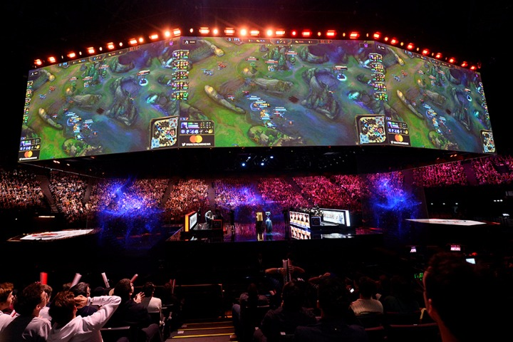 Countries where the esports sector