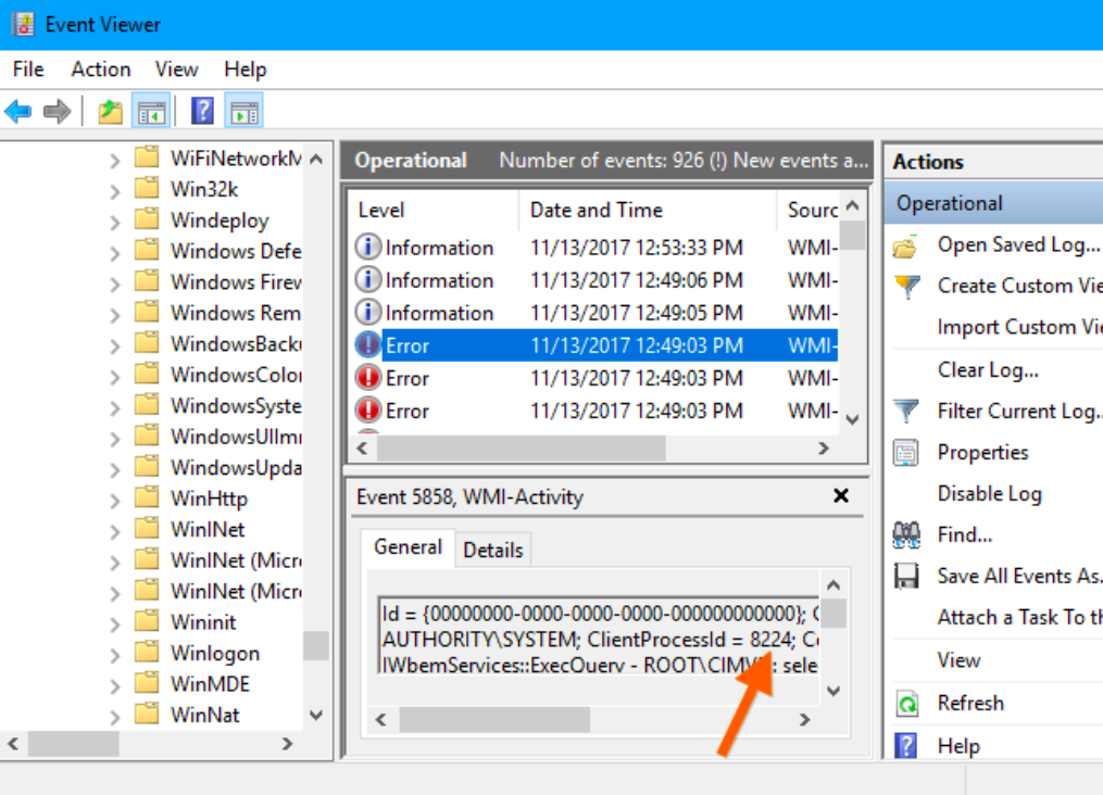WMI Provider Host high cpu disable