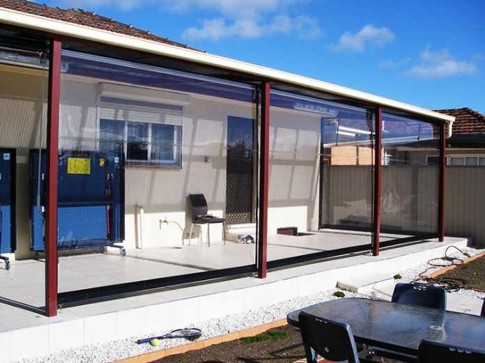 Install Retractable Clear Vinyl Curtains to Make your Patio Weatherproof