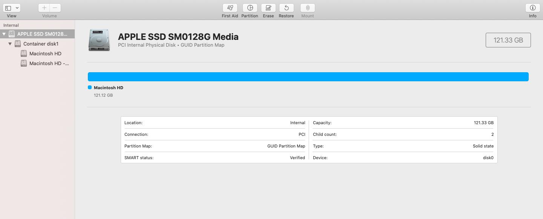 macOS disk cloning