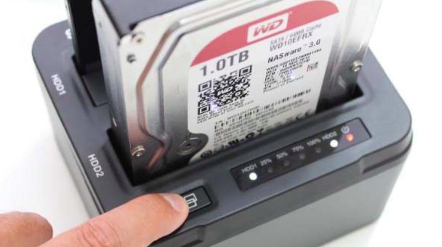 how to clone a hard drive using hard drive duplicator