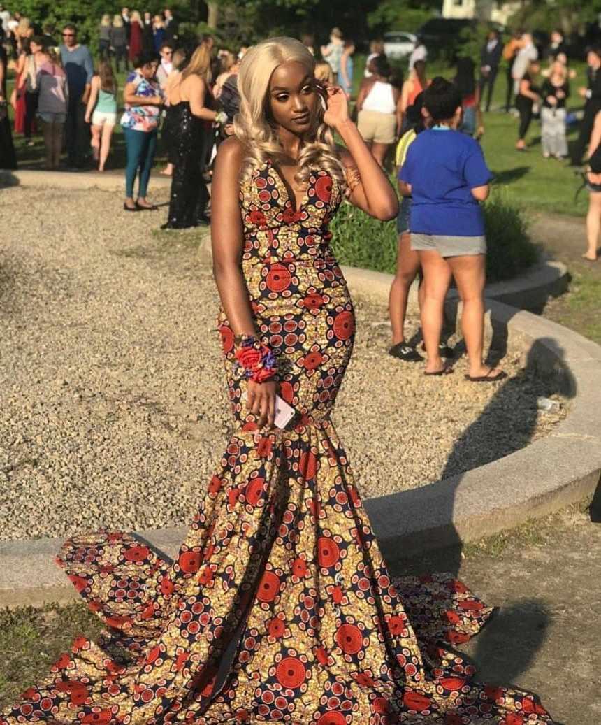 ankara style for prom